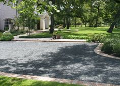 Love it - there is something about the sound of a gravel driveway that I love.