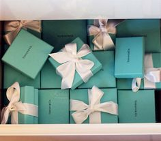 "every woman's dream...to receive ""the blue box"". Whether the contents cost $20 or $20,000...doesn't matter. <3"