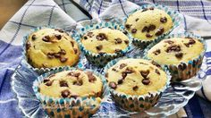 Chocolate Chip Vanilla Muffins