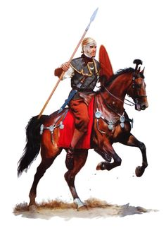 The rider of the auxiliary cavalry middle of I century AD