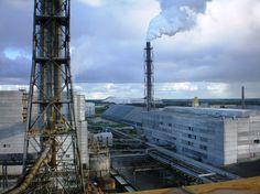 Kedainiai Chemical Plant Lifosa. Chemical Plant, Burj Khalifa, Industrial, Building, Plants, Travel, Viajes, Buildings, Industrial Music