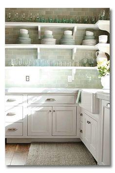 Stylish Kitchen With Open Shelving 9