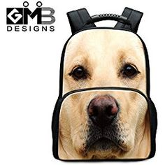 Cute Dog 3D Backpack for Students Adults Outdoor Back pack