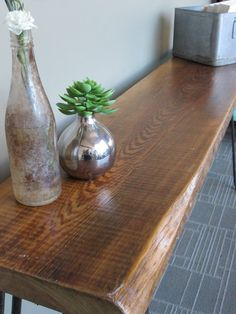 HAIRPIN LEG Console Table by Reclaimedcl on Etsy, $267.00