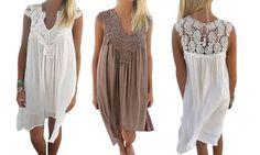 Robes de plage Lina