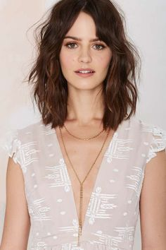 Need For Bead Necklace is perfect for low necklines and summer prints.
