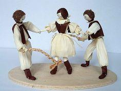 Figurky ze šústí Marie Kočišová