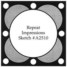 Repeat Impressions Sketch A2510. Play along with our WHAT IF? Wednesday Sketch Challenges for your chance to win a Repeat Impressions gift certificate! - http://www.thehousethatstampsbuilt.com - #repeatimpressions #rubberstamps #cardmaking