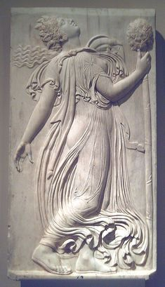 Dancing Maenad. 120-140 AD. Marble. Roman copy of a Greek relief sculpted in Athens at the end of the 5th century BC, traditionally attributed to Callimachus. In the Prado Museum (Madrid, Spain), from the Spanish Royal Collection.