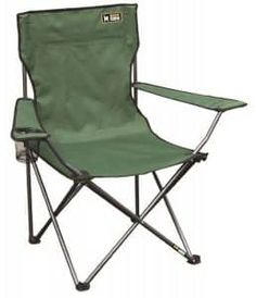 NEW Milestone Folding Fishing Camping Chair with Cup Holder and Carry Bag