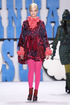 Anna Sui F/W 2012 Look #10