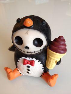 cute penguin Furrybones -Juan