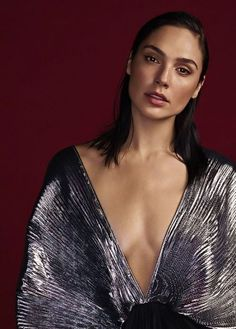 Gal Gadot photographed by Matthias Vriens-McGrath for Glamour UK, December 2017