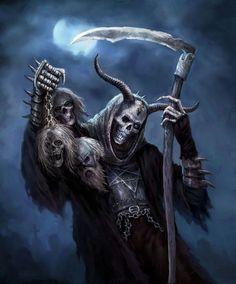Skeleton Witch by Kari Christensen
