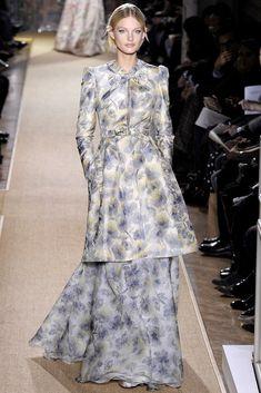 Valentino Spring 2012 Couture Fashion Show - Patricia van der Vliet