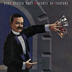 Blue Oyster Cult - Agents Of Fortune on 180g LP Translucent Blue Vinyl Blue Oyster Cult, Don't Fear The Reaper, Lps, Rock Album Covers, Classic Album Covers, Hard Rock, Ozzy Osbourne, Playlists, Van Halen