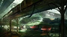 Final Fantasy VII's Train Graveyard Has Never Looked So Beautiful