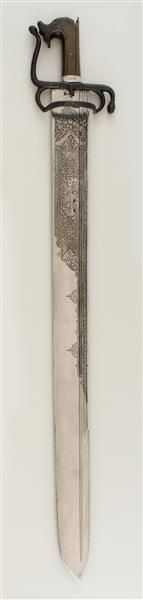 Broadsword. Elector Christian I of Saxony received the broadsword in 1587 as a gift of Francesco I de 'Medici, Grand Duke of Tuscany.