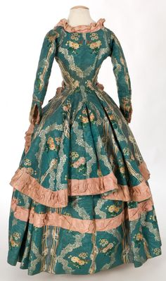 Polonaise jacket and petticoat, 1760-80