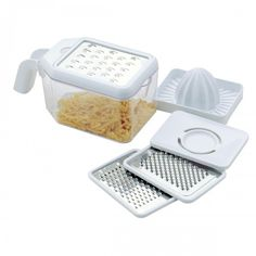 Shred or grate with the Multi Grater, available at the Food Network Store.