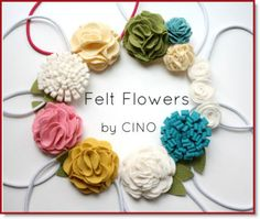 layered flower tutorial ♥ http://felting.craftgossip.com/2014/05/19/felt-flowers-easy-layered-flower-tutorial/