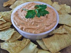 Sun-Dried Tomato & Roasted Red Pepper Dip
