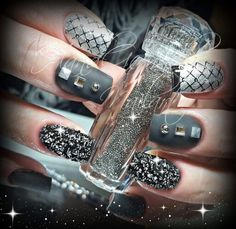 Swarovski Crystal Pixie ♡♢☆ Fingernägel, Nails