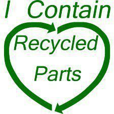 I contain a recycled heart. :)