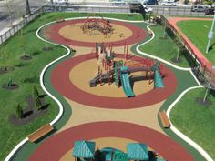 Looking for a neat new design for your playground? Contact one of the friendly sales associates at No Fault Sport Group (toll free) at 866-637-7678. They can make your playground dreams come true!