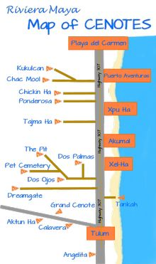 Map_of_Cenotes_Caverns_Riviera_Maya_Mexico_E https://www.playa-vacation.com