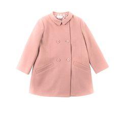 STELLA McCARTNEY KIDS, Outerwear, OLIVE COAT
