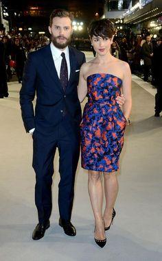 "Jamie Dornan's Wife Amelia Warner Steals the Spotlight at ""50 Shades of Grey"" Premieres"