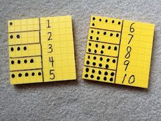 adapted base ten blocks - an interesting differentiation for those that struggle with number concepts