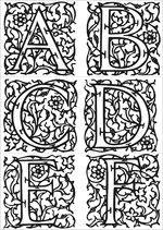 Risultati immagini per enluminures du moyen age Illuminated Letters, Illuminated Manuscript, Chateau Moyen Age, Medieval Times, Medieval Font, History Medieval, European History, Ancient History, Art History