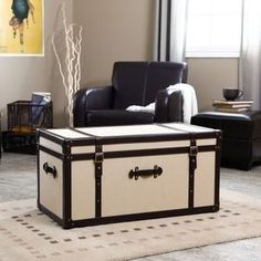 Walmart.com: Explorer Coffee Table Storage Trunk: Furniture - StyleSays
