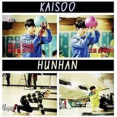 EXO - Kaisoo vs hunhan