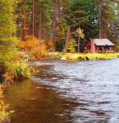 Camp Sherman, near Sisters, Oregon. Info about camping, hiking, recreation, everything.- This looks perfect.