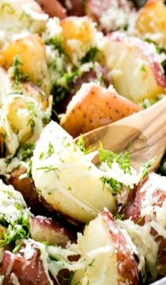 Buttered Red Potatoes with Dill