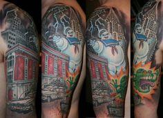juggernaut tattoo cool geek tattoos pinterest tattoo geek tattoos and tatting. Black Bedroom Furniture Sets. Home Design Ideas