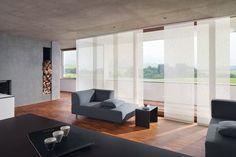Die 11 besten Bilder von Flächenvorhänge   Fenster gardinen ...