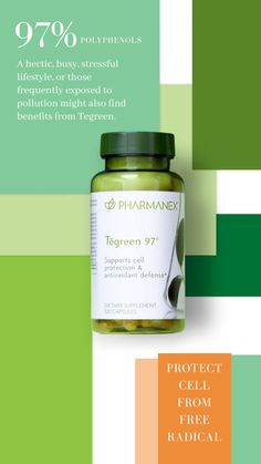 A hectic, busy, stressful lifestyle, or those frequently exposed to pollution might also find benefits from Tegreen. Antioxidant Supplements, Nutritional Supplements, Wealthy Lifestyle, Nu Skin, Skin Products, Skin Care Regimen, Anti Aging Skin Care, Benefit, Skincare
