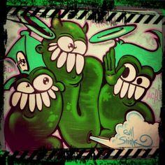 Dr.DuB 1-full stink BumBle characters #Graff#graffiti Yoshi, Bowser, Graffiti, Street Art, Fictional Characters, Fantasy Characters, Graffiti Artwork, Street Art Graffiti