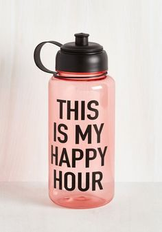 Some sip a glass of red wine daily to keep the doctor away, but your health plan is having this water bottle on hand for jogs, yoga practice, and beyond!