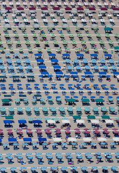 Umbrella territory, Camaiore, Tuscany, Italy, 2010. | 22 Stunning Aerial Photos That Reveal A Beauty From Above