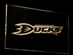 Anaheim Ducks 2 LED Sign