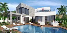 New development of contemporary villas Mijas Spain | Rose Estates