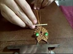 TUTORIAL BUHO DE MACRAME - YouTube