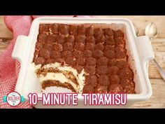 My easy 10 Minute Tiramisu recipe takes all the fuss out of a classic Tiramisu by simplifying the method while delivering you maximum delicious results!