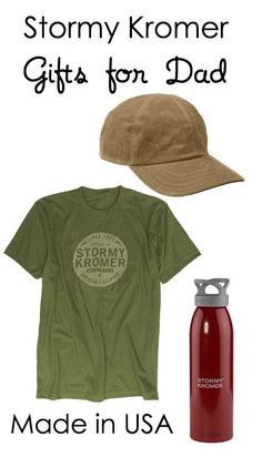 American made gifts for dad available at Stormy Kromer | Made in USA Father's Day gift ideas