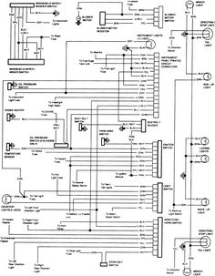 85 Chevy Truck Wiring Diagram | Chevrolet Truck V8 1981-1987 ... on 1995 dodge ram headlight wiring diagram, 1995 ford explorer headlight wiring diagram, 1995 chevrolet caprice headlight switch,